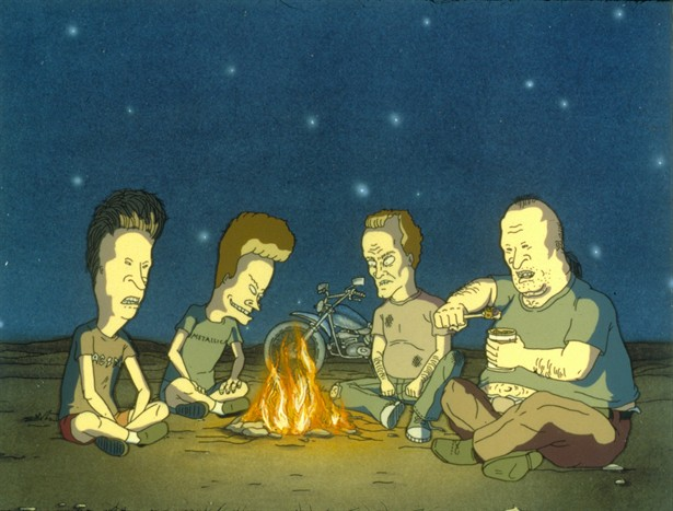 beavis and butthead meet their fathers