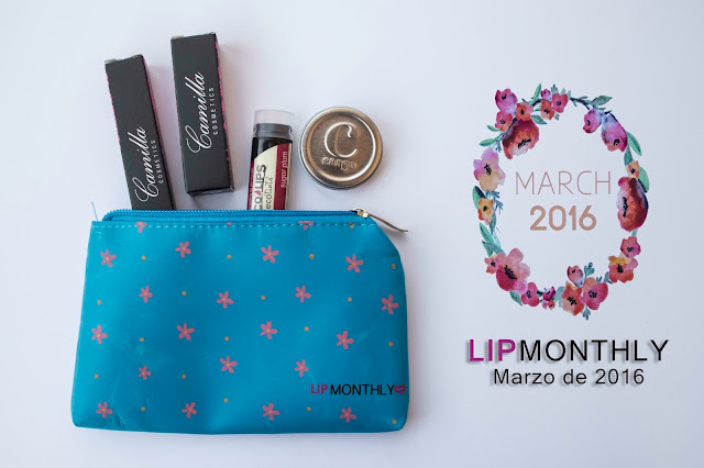 Lip Monthly de Marzo de 2016