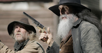 These gents deal in lead in ONCE UPON A TIME IN DEADWOOD.
