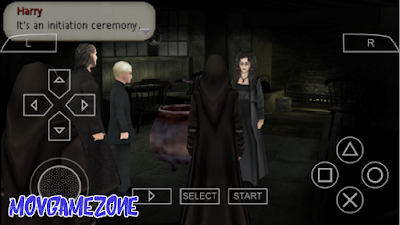 تحميل لعبة Harry Potter and the Half-Blood Prince لأجهزة psp ومحاكي ppsspp