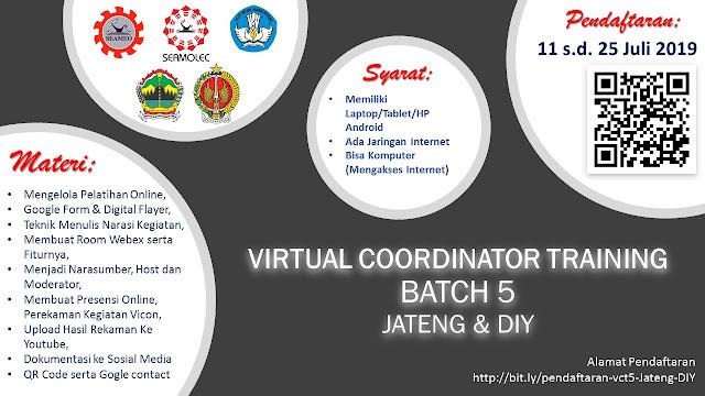 Ayoo Daftar Virtual Coordinator Training (VCT) Batch 5