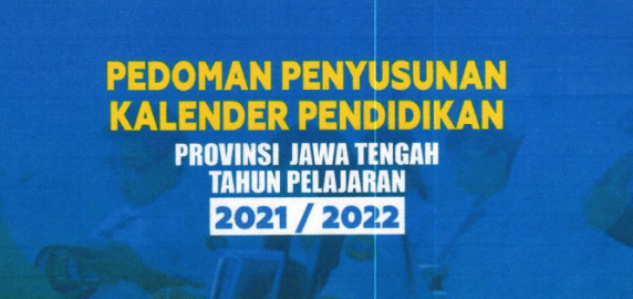Kalender Pendidikan Jawa Tengah 2021/2022 Excel