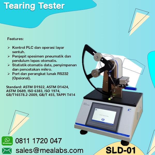 SLD-01 Tearing Tester