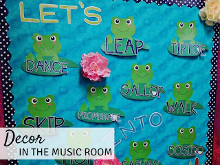 "Music Room Decor - Back to School in the Music Room (Blog Hop) - Kodaly Inspired Classroom - find out my ""must have"" decor items for the music room."