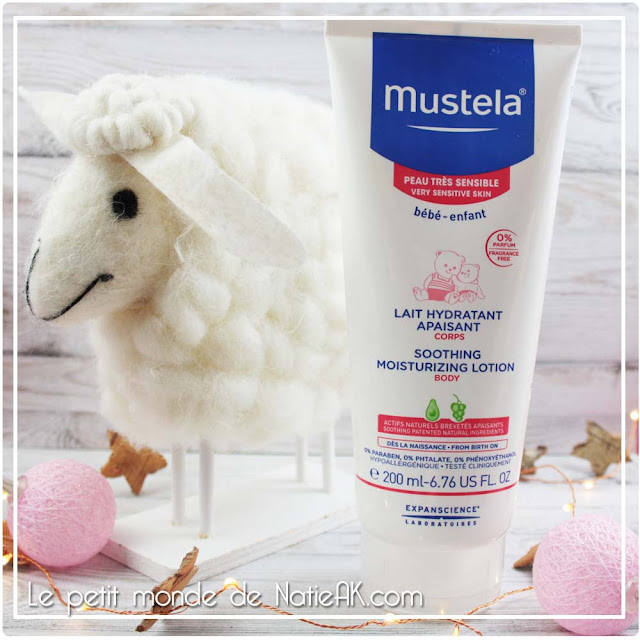 mustela lait corps