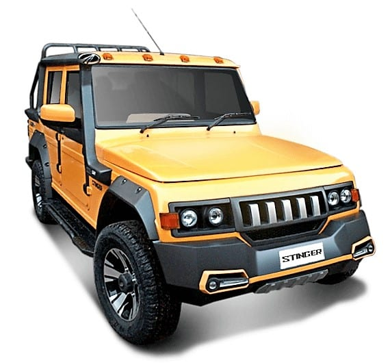 Mahindra Customisation Studio Bolero Stinger 3