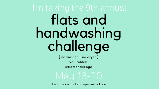 Flats Challenge Cloth Diaper Revival
