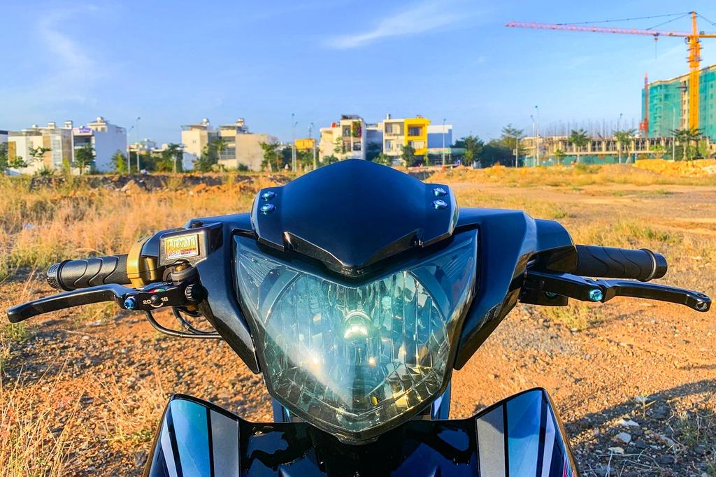 Yamaha Exciter 135 độ phong cách Malaysia của biker Nha Trang