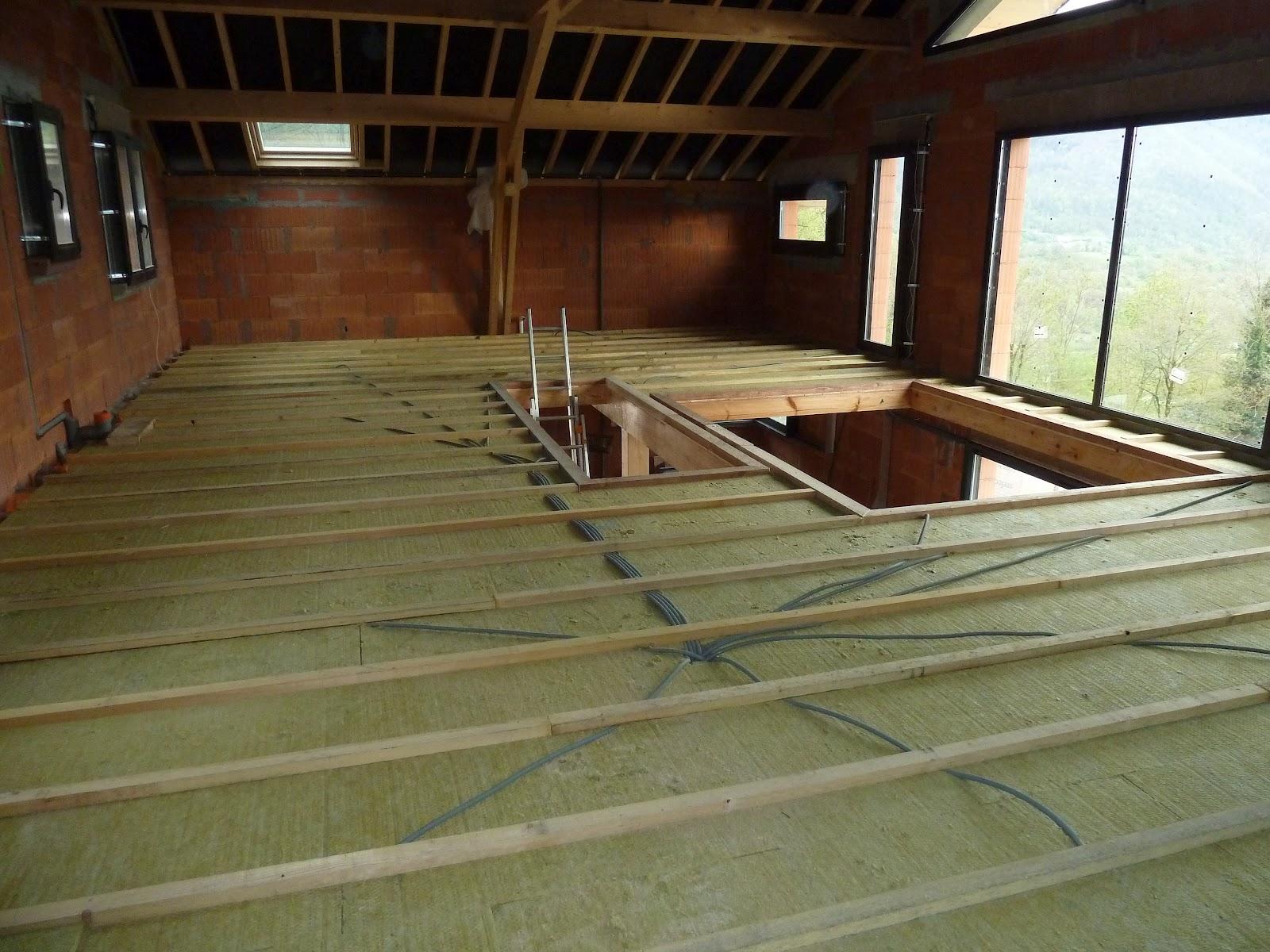 la maison de meltemetpetau l 39 isolation phonique tr s importante pour un plancher bois et une