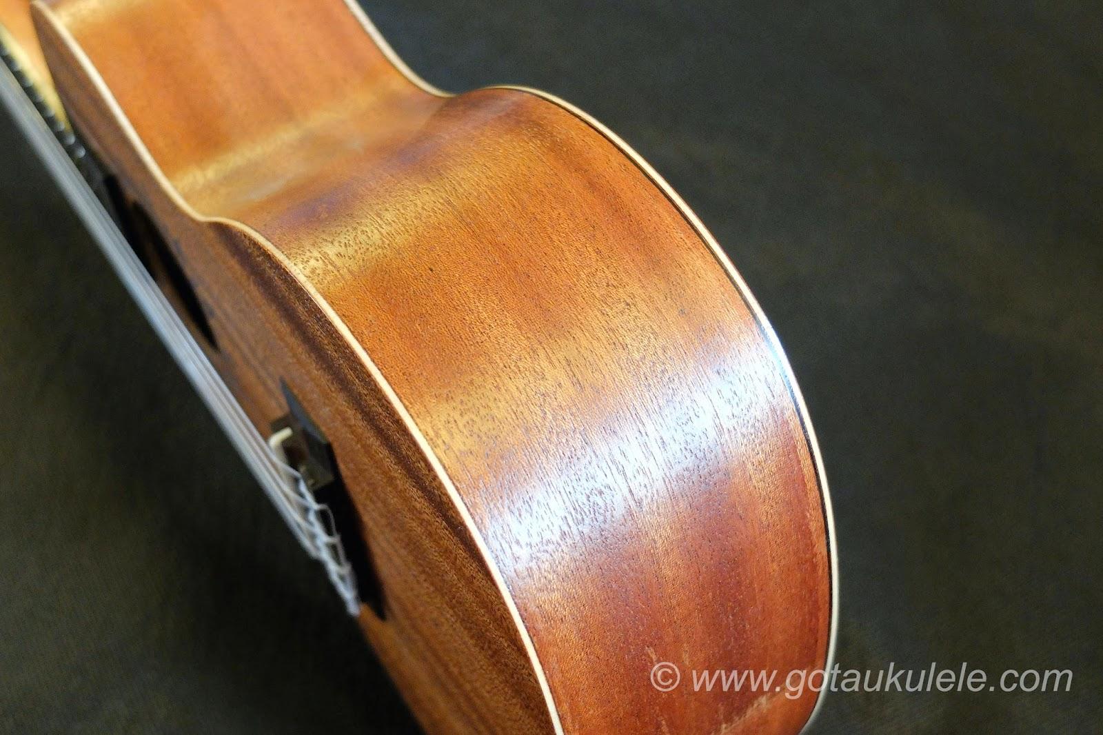 Baton Rouge V2C Sun ukulele sides