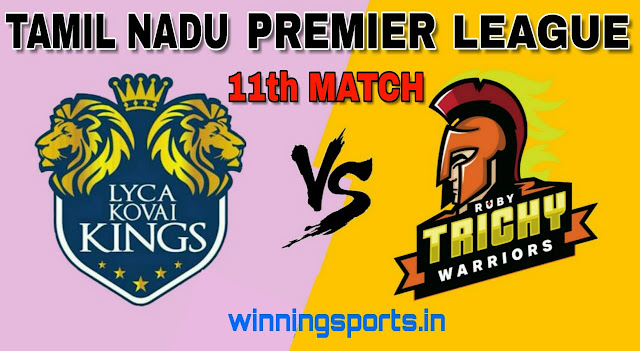 Dream11 team for LYC vs RUB 11th Match | Fantasy cricket tips | Playing 11 | TNPL Dream11 Team