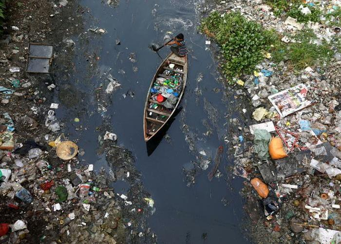 Dhaka river
