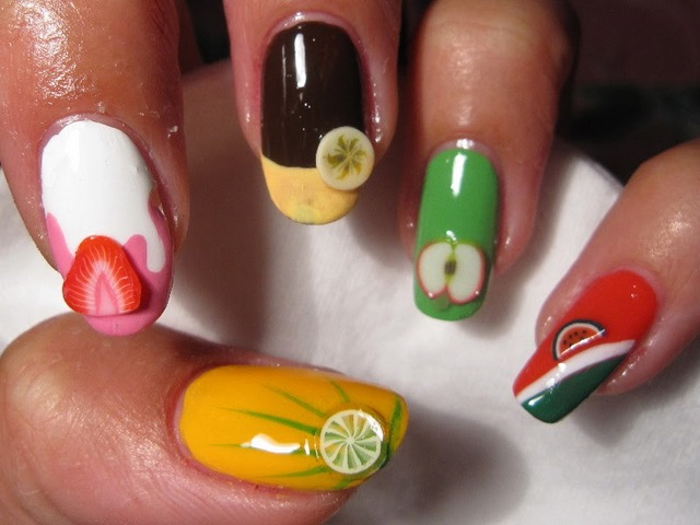 Quick And Easy Fimo Nail Art Canes-The Latest Trend in ...