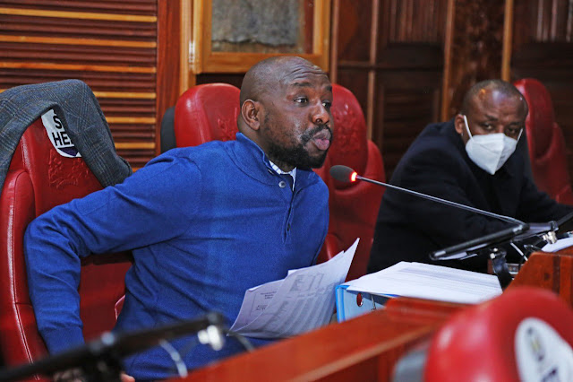 Kipchumba Murkomen photo at the senate