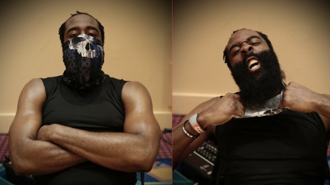 NBA superstar James Harden why he's wearing the Blue Lives Matter: I thought it looked great.