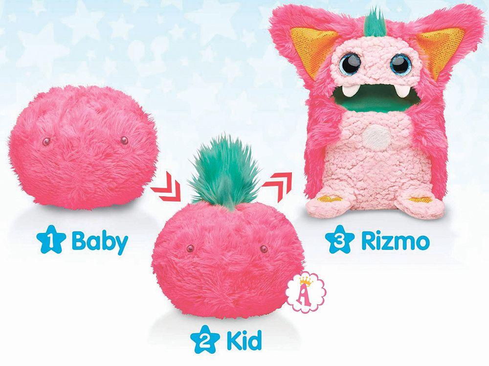Как растет монстрик Rizmo из комка шерсти в полноценную игрушку
