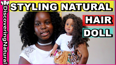 Black Dolls with Natural Hair