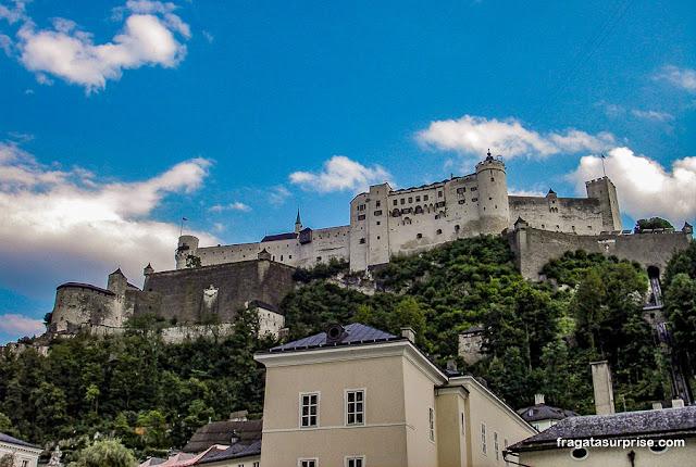 Hohensalzburg, o Castelo de Salzburgo