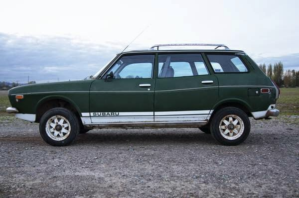 Subaru Diesel Usa >> Rare 1975 Subaru Wagon 4WD for Sale - 4x4 Cars