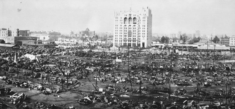 History Of The Black Firemen On The Los Angeles Fire: Fire Destroys 1929 LA Auto Show