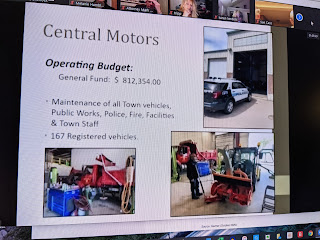 one page of the DPW overview on Central Motors