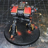 Legio Ignatum Warhound Titan WIP