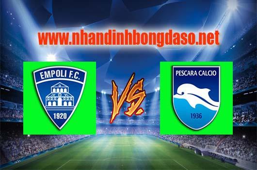 Nhận định bóng đá Empoli vs Pescara, 20h00 ngày 08-04