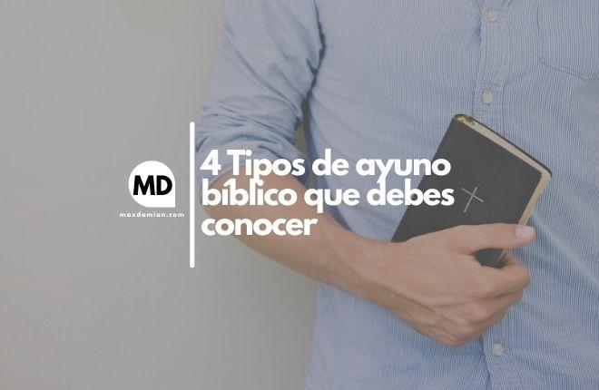 Tipos de ayuno bíblico