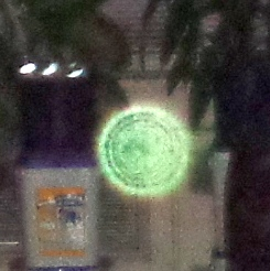 green orb double ring