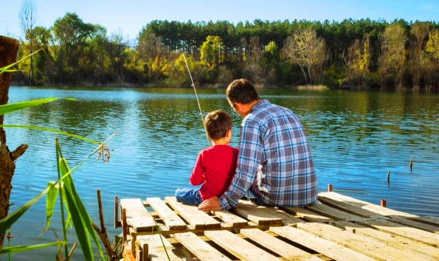 Belajar memancing Sejak Usia Anak-anak