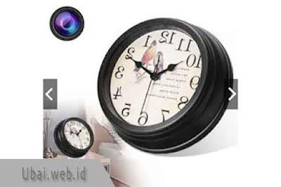 1080P Multi functional WiFi Clock Camera