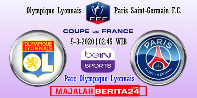 Prediksi Lyon vs Paris Saint Germain