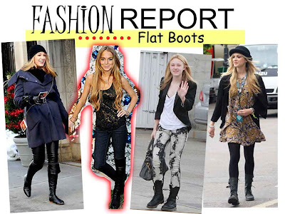 Fashion Report  - Flat Boots
