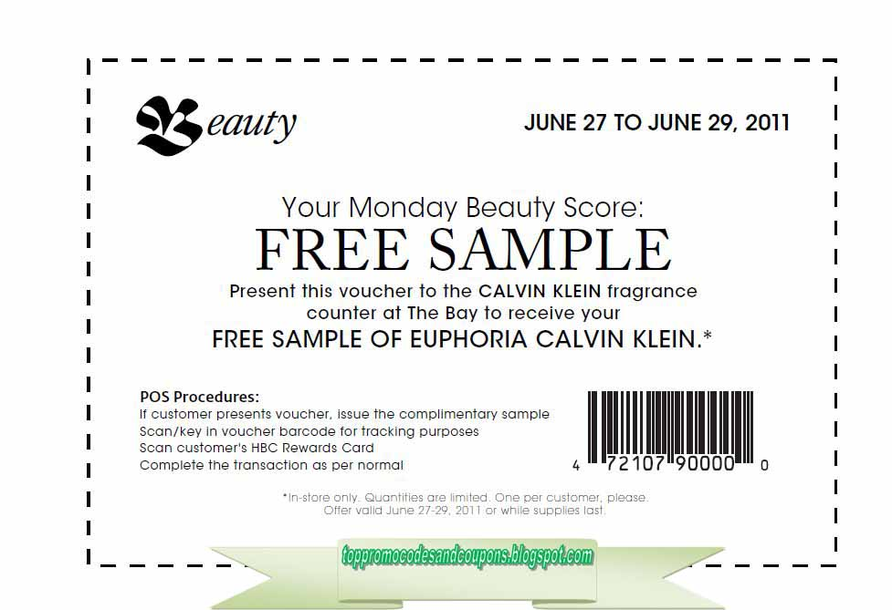 graphic about Calvin Klein Printable Coupon named Absolutely free Promo Codes and Coupon codes 2019: Calvin Klein Discount coupons