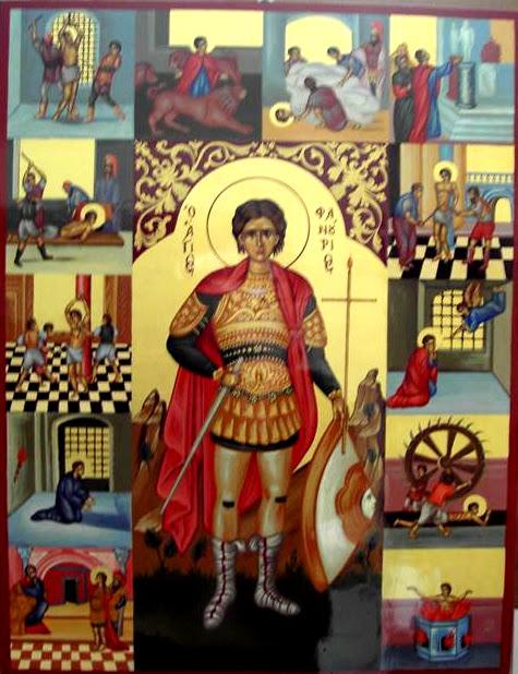 Αποτέλεσμα εικόνας για Ὁ Ἃγιος Φανούριος ὁ Μεγαλομάρτυς(27 Αὐγούστου)
