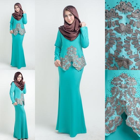 Baju Kurung Moden Lace LovelySuri