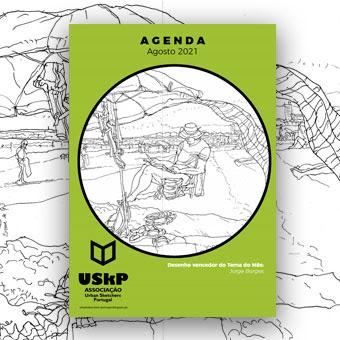 Sketch da capa - Jorge Borges