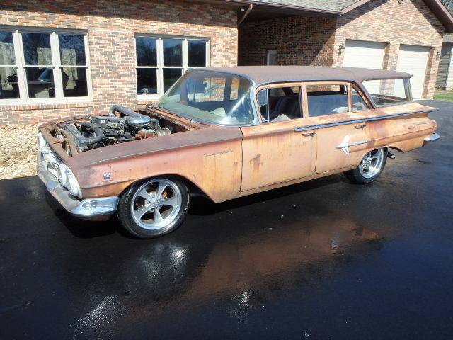 Daily Turismo: Coal Roller: 1960 Chevrolet Wagon with ...