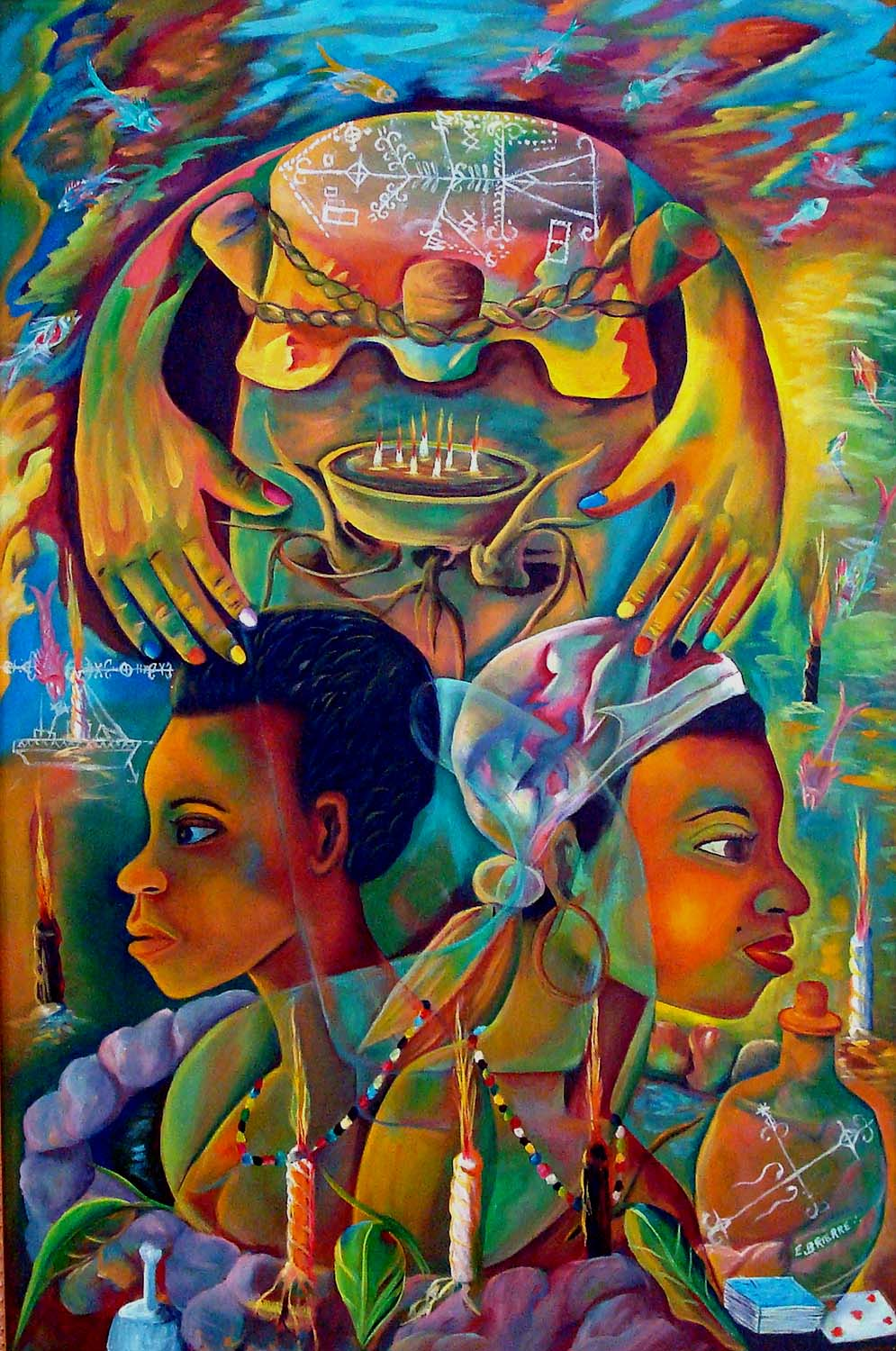 New Orleans Art Insider: Haitian Paintings at Le Musee de FPC