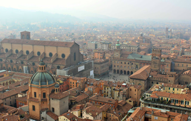 panorama torre asinelli Bologna