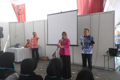 Sekdakot Mojokerto Tinjau Tes CPNS Kota Mojokerto di Kediri