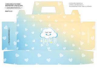 Lluvia de Bendiciones para Niño: : Caja Maleta para Imprimir Gratis.