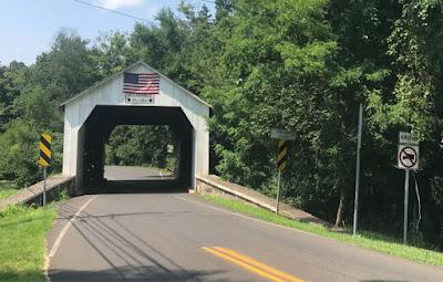 Covered bridge in Buck's County, Pa.