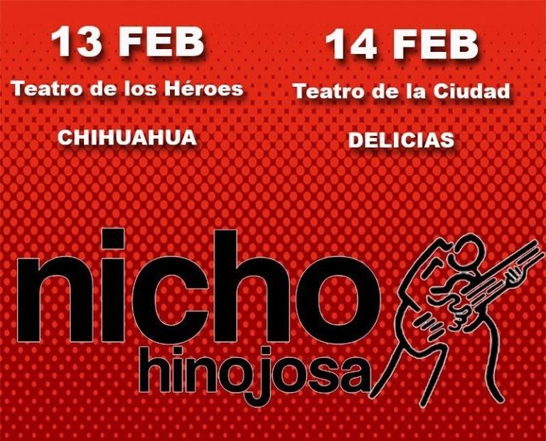 Conciertos de Nicho Hinojosa en Chihuahua 2020