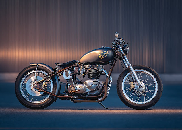 Triumph T120 1968 By Origin8or Custom Motorcycles Hell Kustom