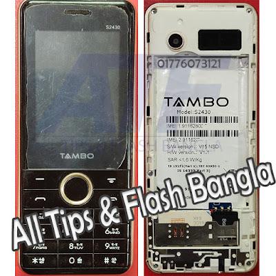 Tambo S2430 Flash File
