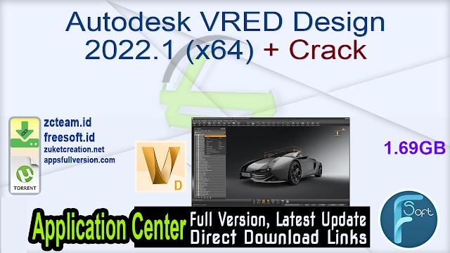 Autodesk VRED Design 2022.1 (x64) + Crack_ ZcTeam.id