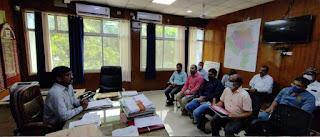 पशु चिकित्सा विभाग की समीक्षा बैठक सम्पन्न