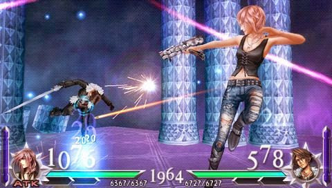 Dissidia 012 Duodecim Final Fantasy PPSSPP ISO