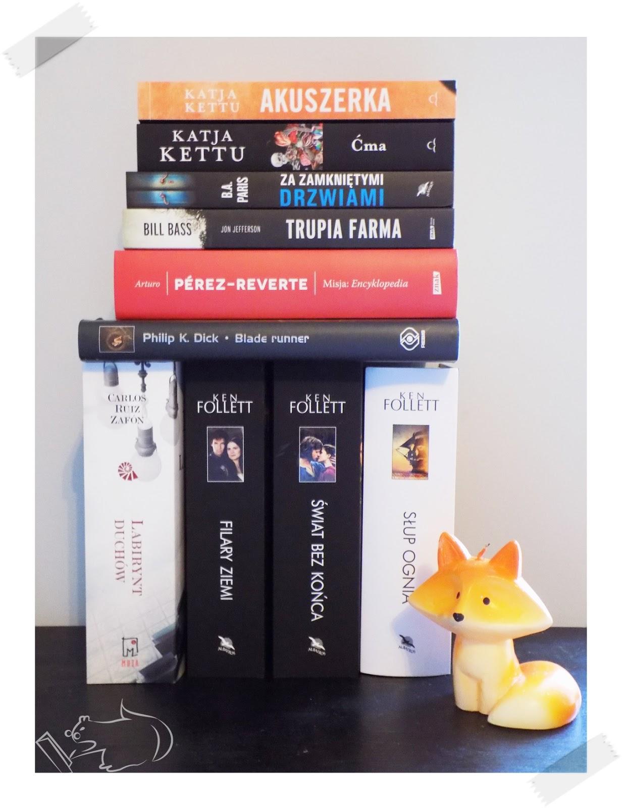 Książkowy stos zakupowy #1
